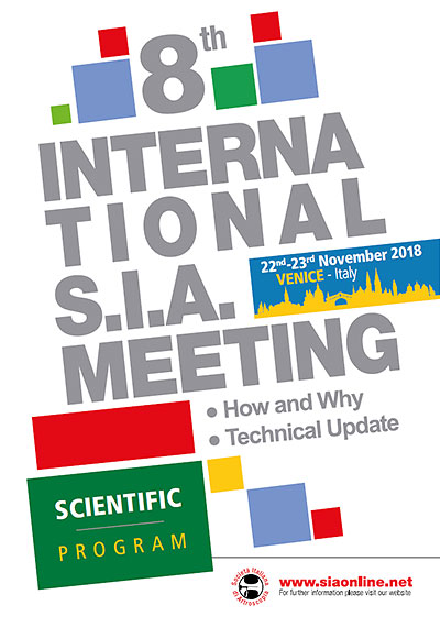 8th International SIA Meeting