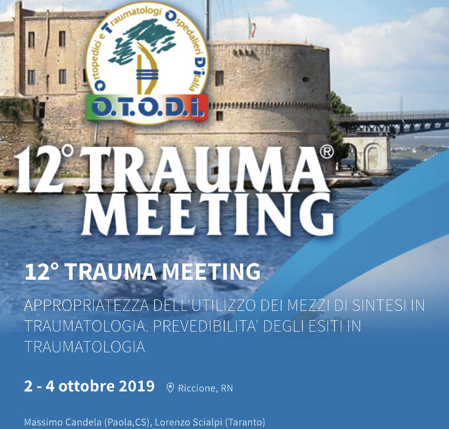12 Trauma meeting 2-4 Ottobre