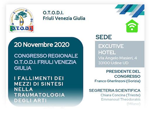 Congresso regionale O.T.O.D.I di Friuli Venezia Giulia