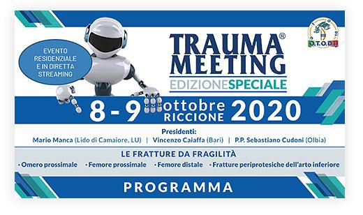 Trauma Meeting 8-9 Ottobre 2020
