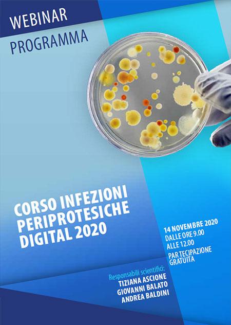 Corso Infezioni periprotesiche digital 2020