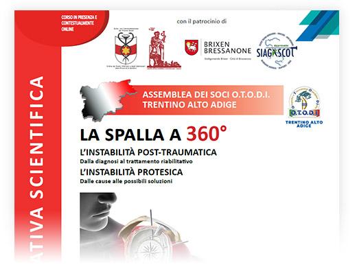 Assemblea dei soci O.T.O.D.I. Trentino Alto Adige